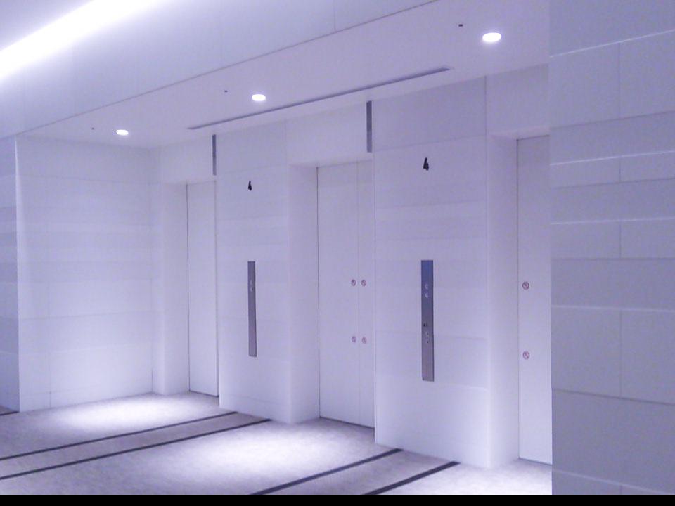 エレベーター内の雰囲気作りの音